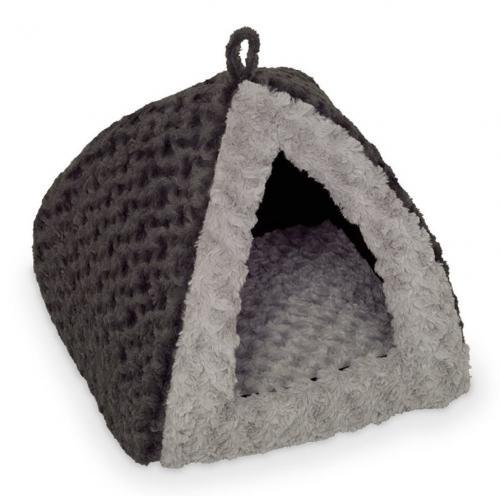Nobby Seoli plyšové iglù šedá 40x40x35cm