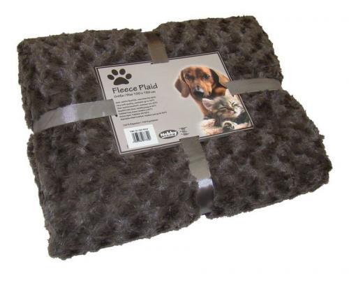 Nobby Super Soft fleecová mìkká deka 100x150cm hnìdá