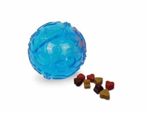 Nobby TRP Snack Ball plnící hraèka malá 8cm modrá