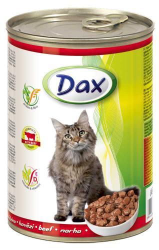 Dax Cat kousky hovìzí 415 g