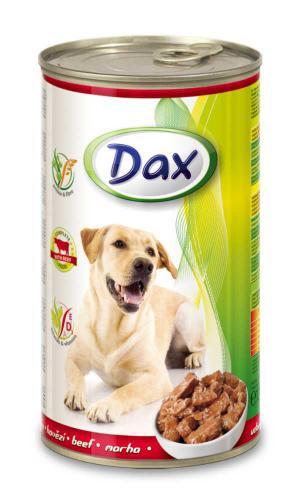 Dax Dog kousky hovìzí 1240 g