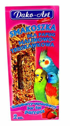 Tyèinka s malinami a jahodami andulka Dako (2 ks)