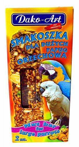 Tyèinka s oøechem velký papoušek Dako (2 ks)