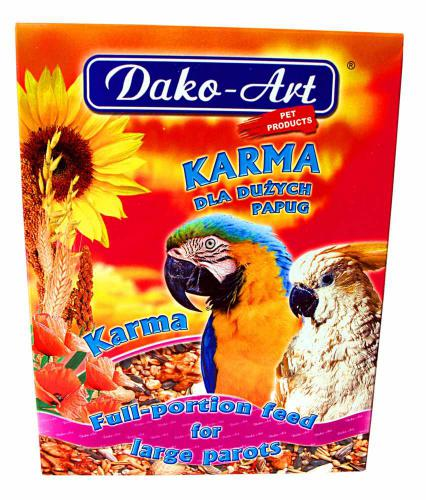 Krmivo velký papoušek Dako 800 g