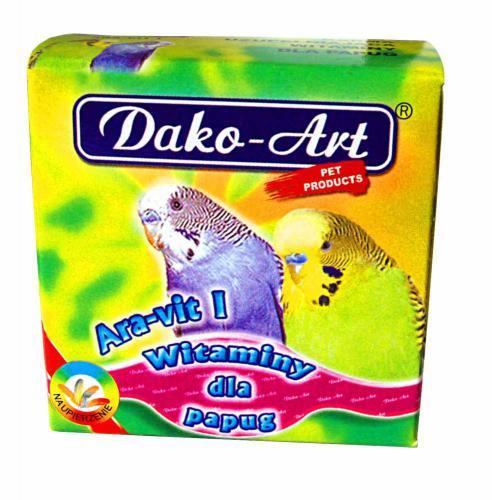Vitamíny na pøepeøení papoušek 30 g
