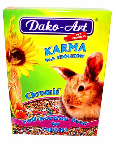 Krmivo králík Dako 500 g