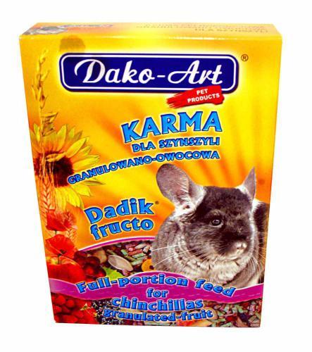 Krmivo s ovocem èinèila Dako 400 g