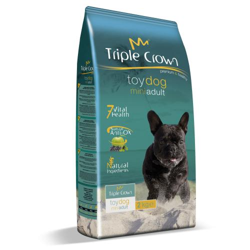 Triple Crown Dog Adult Mini Toy 2 kg