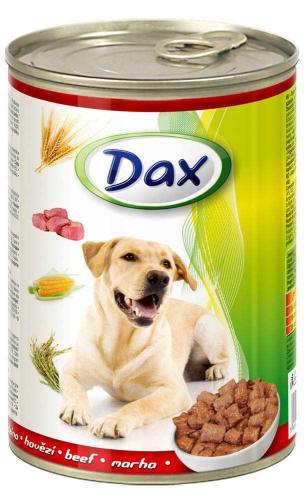Dax Dog kousky hovìzí 415 g