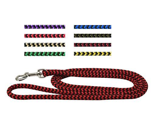 Vodítko lano rùzné dekory 8/150