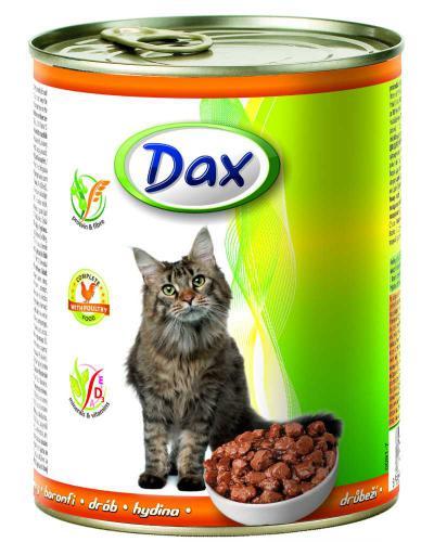 Dax Cat kousky drùbeží 830 g
