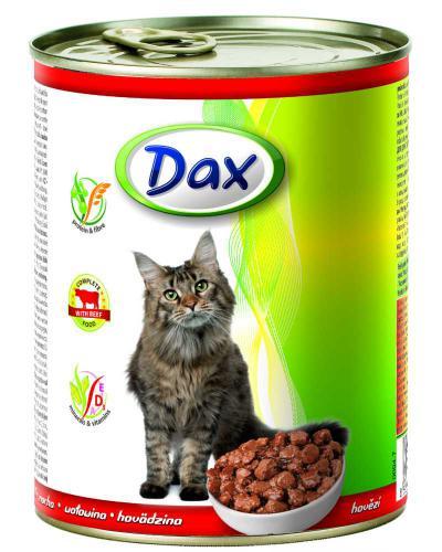 Dax Cat kousky hovìzí 830 g
