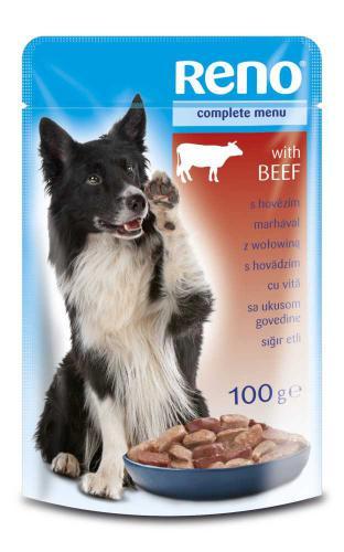 RENO Dog hovìzí, kapsa 100 g