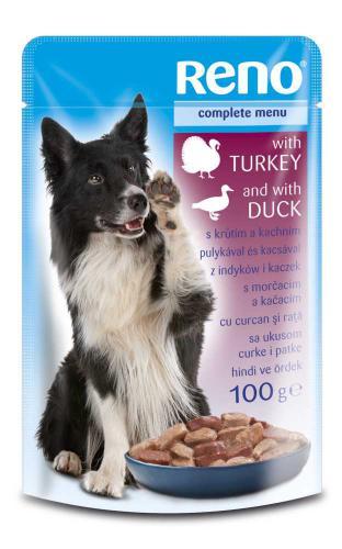 RENO Dog krùta a kachna, kapsa 100 g