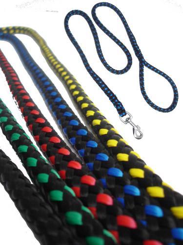 Vodítko lano pletené rùzné dekory 12