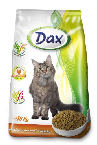 Dax Cat granule drùbeží se zeleninou 10 kg