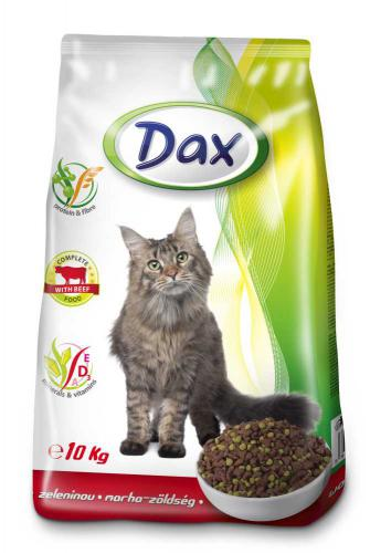 Dax Cat granule hovìzí se zeleninou 10 kg