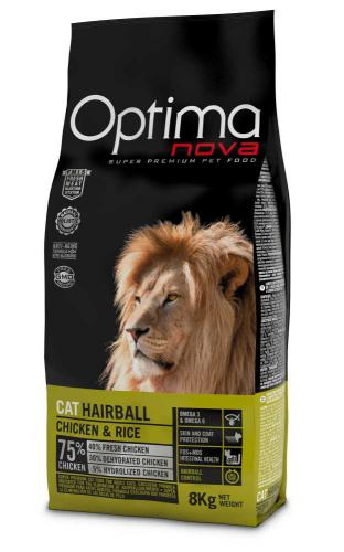 OPTIMAnova Cat Hairball 8 kg