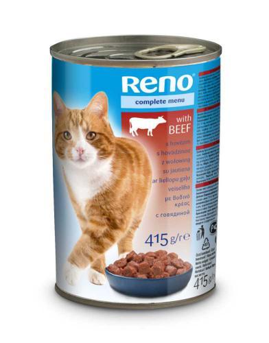 RENO Cat hovìzí, kousky 415 g