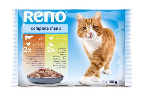 RENO Cat  kapsa 100 g (pack 13 x 4 ks)