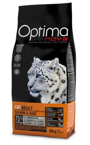 OPTIMAnova Cat Adult Salmon 8 kg