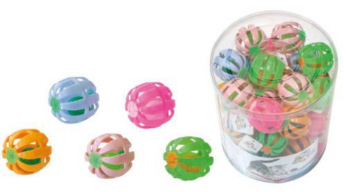 Balónek pro koèky s rolnièkou 4 cm