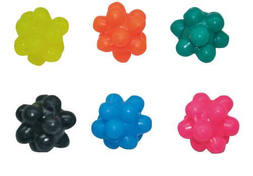 Gumová hraèka atom 4 cm