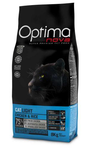 OPTIMAnova Cat Light 8 kg