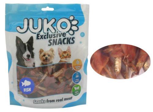 JUKO SNACKS Chicken & Fish 250 g