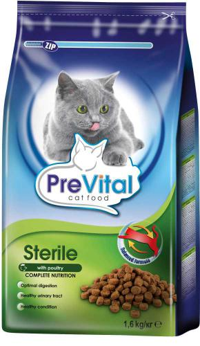 PreVital koèka sterilní, granule 1,6 kg