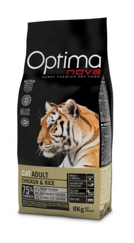OPTIMAnova Cat Adult Chicken & Rice 8 kg