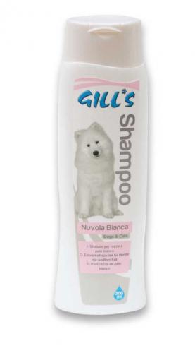 GILLS šampon Bílá srst 200 ml