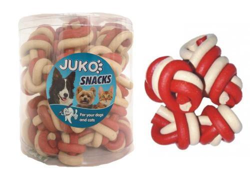 Jerky uzel vanilka & hovìzí JUKO SNACKS (25 ks)