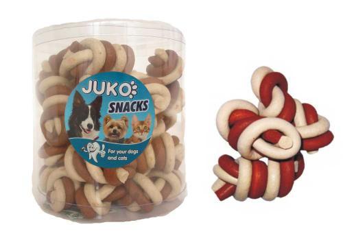 Jerky uzel vanilka & kuøecí JUKO SNACKS (25 ks)