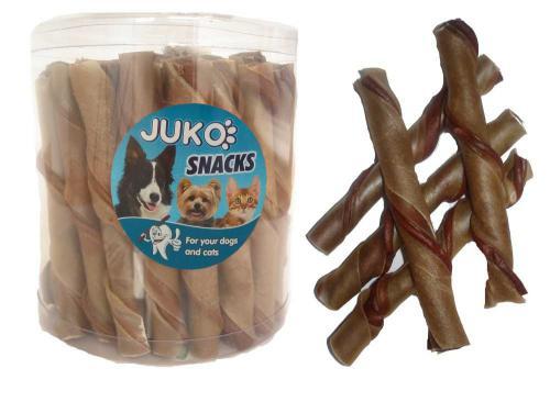 Trubièka natural kuøecí JUKO SNACKS 35 ks