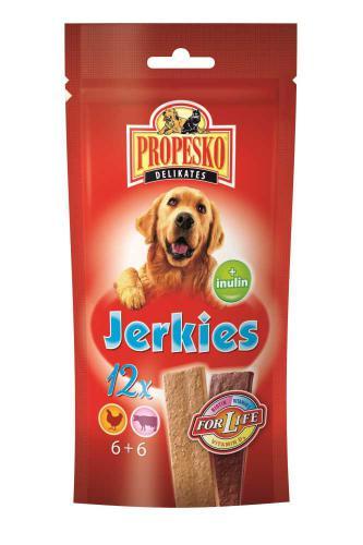 PROPESKO Dog Jerkies hovìzí pamlsek (12 ks)