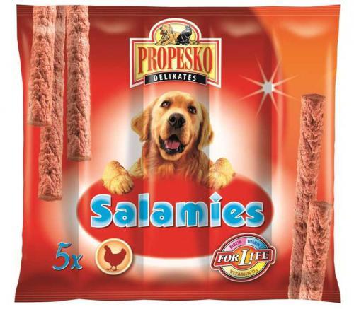 PROPESKO Dog Salamies kuøecí pamlsek (5 ks)