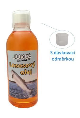 Lososový olej s odmìrkou JUKO (500 ml)