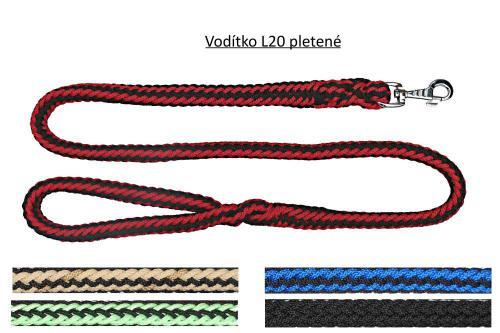 Vodítko lano zateplené rùzné dekory 20/130