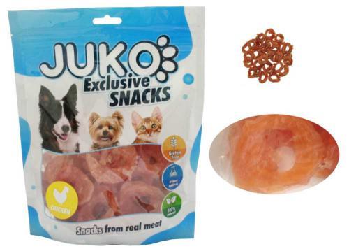 JUKO SNACKS Chicken Soft ring 250 g