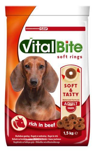 VitalBite soft rings hovìzí 1,5 kg