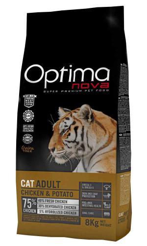 OPTIMAnova Cat Chicken GF 8 kg