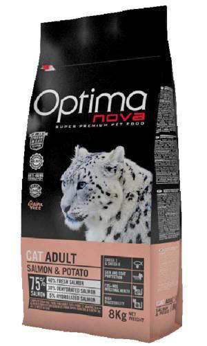 OPTIMAnova Cat Salmon & Potato GF 8 kg