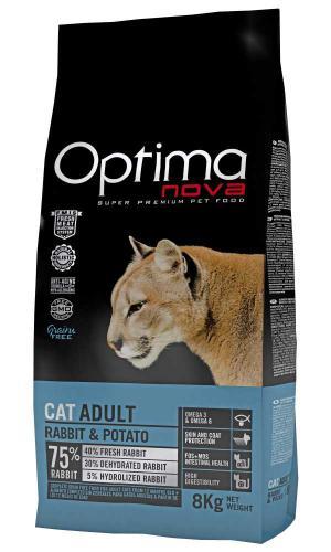 OPTIMAnova Cat Rabbit & Potato GF 8 kg