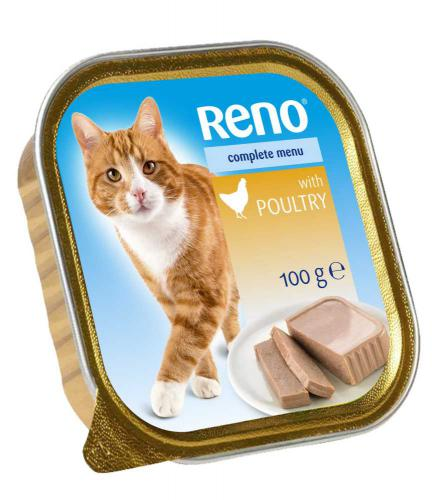 RENO Cat drùbeží se zeleninou, vanièka 100 g