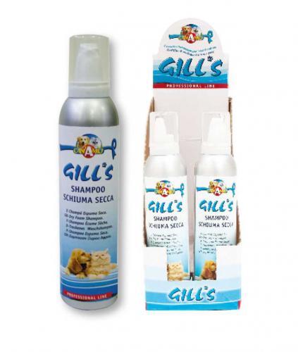 GILLS Dry suchý pìnový šampon 250 ml