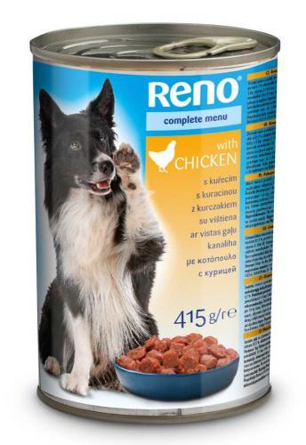 RENO Dog kuøecí, kousky 415 g