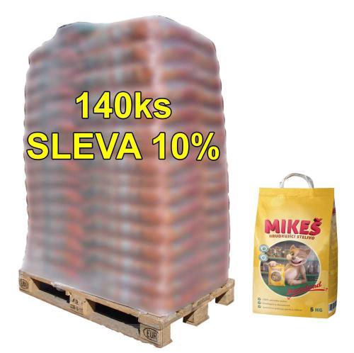 MIKEŠ Standard hrudkující 5 kg (paleta 140 ks) SLEVA 10%