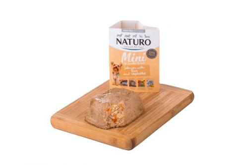 Naturo Dog Adult Salmon & Rice with Vegetables 150 g