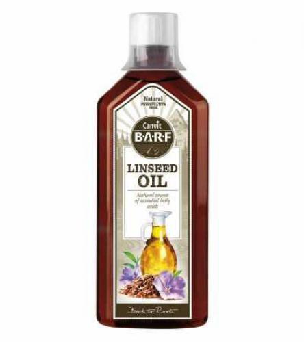 Canvit BARF Line Linseed Oil (lnìný olej) 500 ml